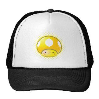 Kawaii Sour Lemon Mushroom Mesh Hat