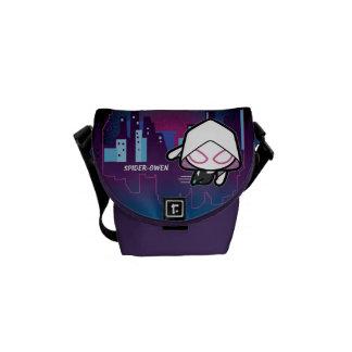 Kawaii Spider-Gwen City Skyline Commuter Bags