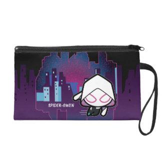 Kawaii Spider-Gwen City Skyline Wristlet