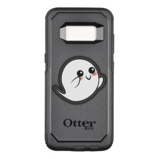 Kawaii spooky ghost OtterBox commuter samsung galaxy s8 case