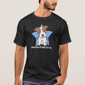 Kawaii Star American Pit Bull Terrier T-Shirt