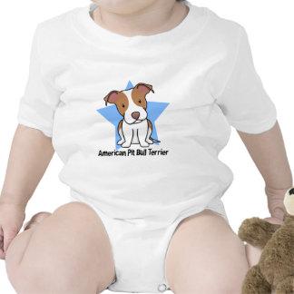 Kawaii Star American Pit Bull Terrier Bodysuit