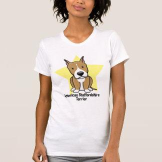 Kawaii Star American Staffordshire Terrier T-Shirt