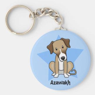 Kawaii Star Azawakh Keychains