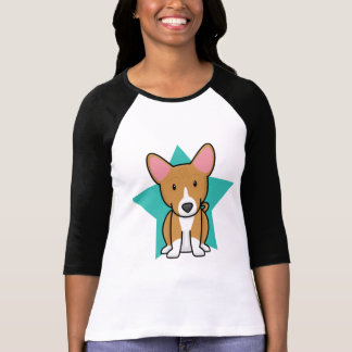 Kawaii Star Basenji Ladies T-Shirt