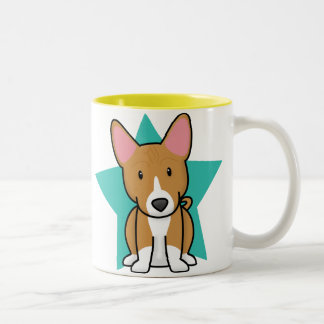 Kawaii Star Basenji Mug