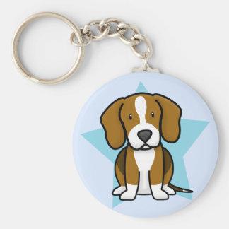 Kawaii Star Beagle Keychain