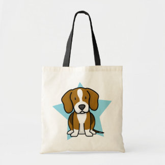 Kawaii Star Beagle Tote Bag