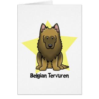 Kawaii Star Belgian Tervuren Card