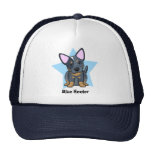 Kawaii Star Blue Heeler Cap