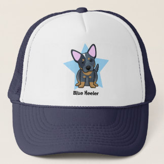 Kawaii Star Blue Heeler Trucker Hat