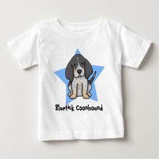 Kawaii Star Bluetick Coonhound Baby's T-Shirt