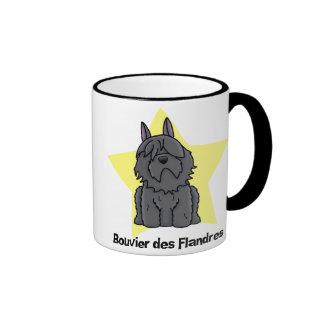 Kawaii Star Bouvier des Flandres Mug
