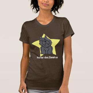 Kawaii Star Bouvier des Flandres T-shirts
