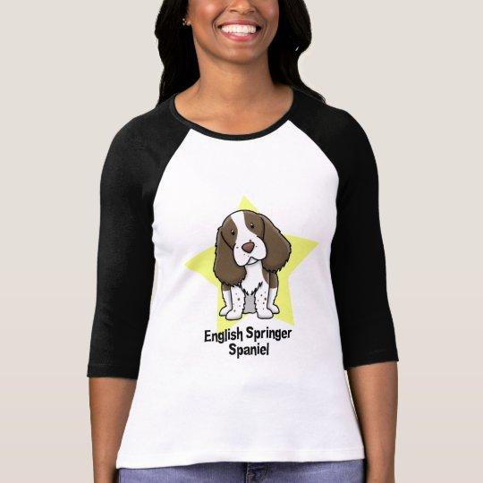 Kawaii Star English Springer Spaniel T-Shirt