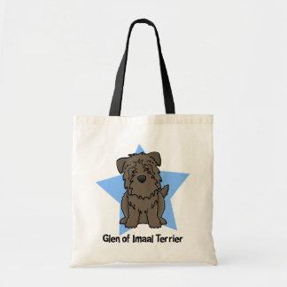 Kawaii Star Glen of Imaal Terrier Canvas Bag