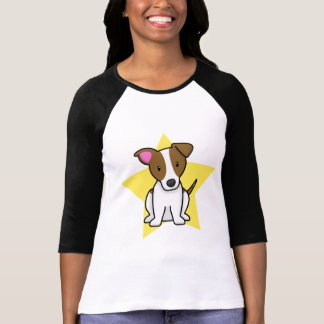 Kawaii Star Jack Russell Terrier Ladies T-Shirt