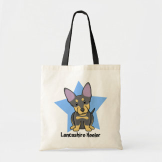 Kawaii Star Lancashire Heeler Tote Bag