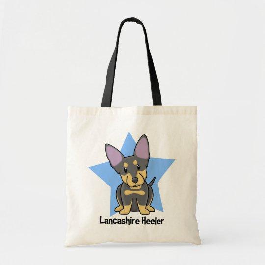Kawaii Star Lancashire Heeler Tote Bag