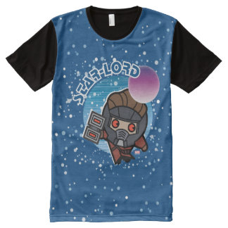 Kawaii Star-Lord In Space All-Over Print T-Shirt