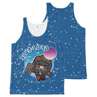 Kawaii Star-Lord In Space All-Over Print Tank Top