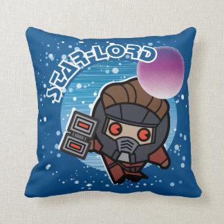 Kawaii Star-Lord In Space Cushion