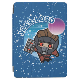 Kawaii Star-Lord In Space iPad Air Cover