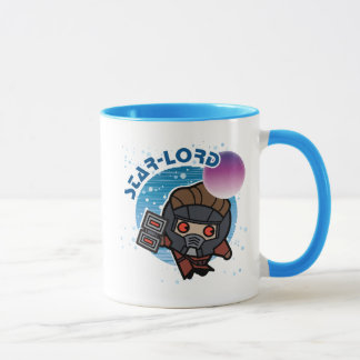Kawaii Star-Lord In Space Mug
