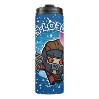 Kawaii Star-Lord In Space Thermal Tumbler