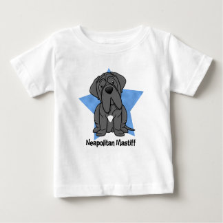 Kawaii Star Neapolitan Mastiff Baby's Baby T-Shirt
