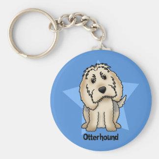 Kawaii Star Otterhound Key Chain