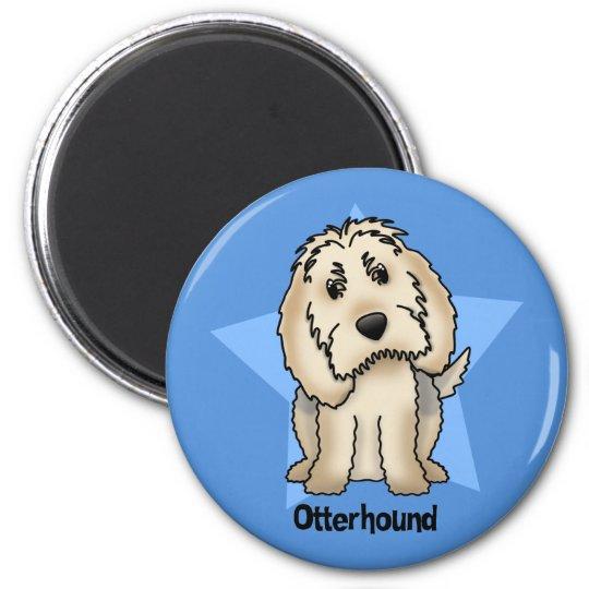 Kawaii Star Otterhound Magnet