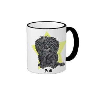 Kawaii Star Puli Ringer Mug