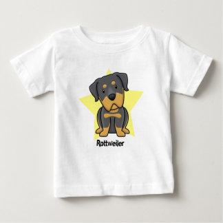 Kawaii Star Rottweiler Baby's Baby T-Shirt