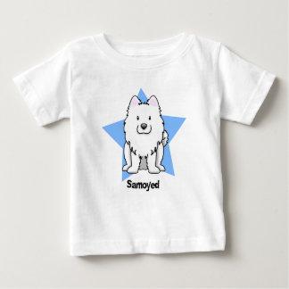 Kawaii Star Samoyed Baby T-Shirt