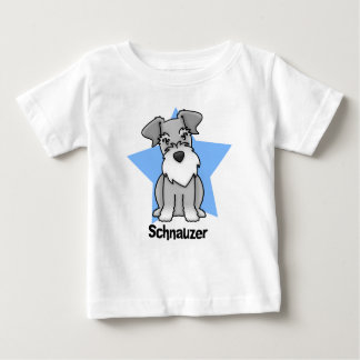 Kawaii Star Schnauzer Baby's Baby T-Shirt