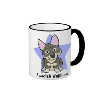 Kawaii Star Swedish Vallhund Coffee Mugs