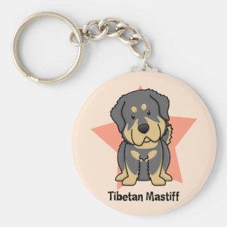 Kawaii Star Tibetan Mastiff Keychains