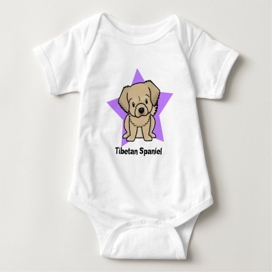 Kawaii Star Tibetan Spaniel Baby Creeper