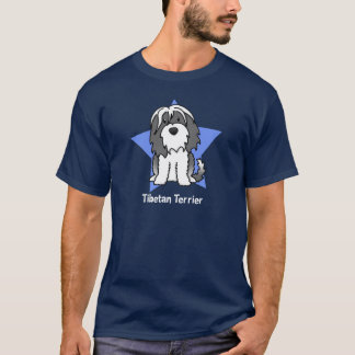 Kawaii Star Tibetan Terrier T-Shirt