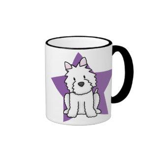 Kawaii Star Westie Mug