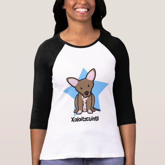 Kawaii Star Xoloitzcuintli Ladies T-Shirt