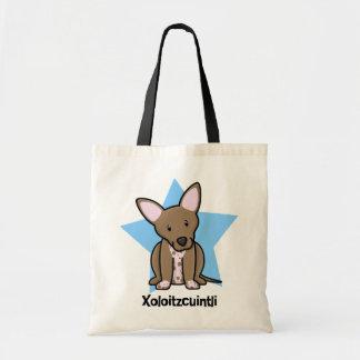 Kawaii Star Xoloitzcuintli Tote Bag
