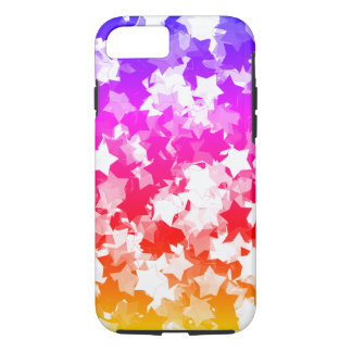 Kawaii Stars Neon Tropical Gyaru Girl iPhone 8/7 Case
