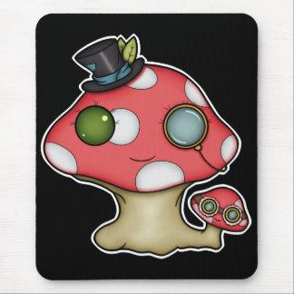 Kawaii Steampunk Mushroom Mousepads