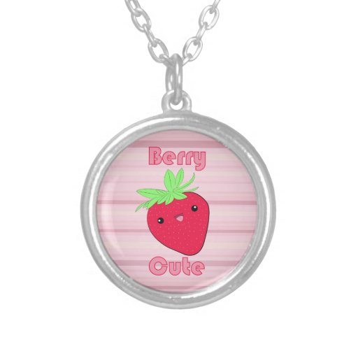Kawaii Strawberry Berry Cute necklace