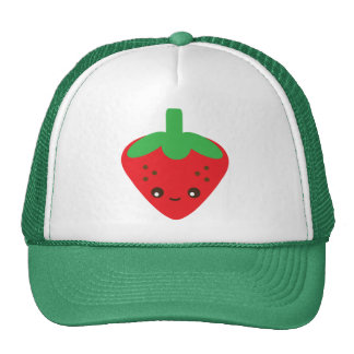 Kawaii Strawberry Cap
