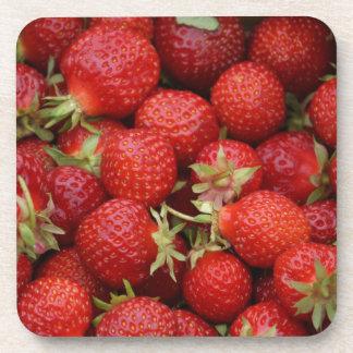 Kawaii Strawberry Coasters