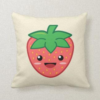 Kawaii Strawberry Cushion