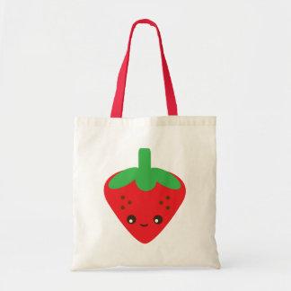 Kawaii Strawberry Tote Bag